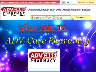 Canadian Online Pharmacy Prescription Drugs