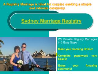 Sydney Registry Office
