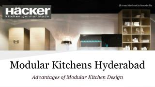 German Design Modular Kitchens Hyderabad