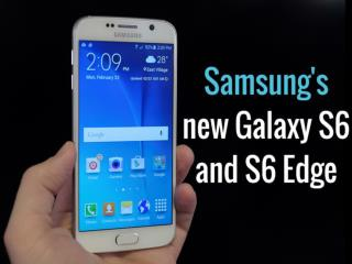 Samsung's new Galaxy S6 and S6 Edge