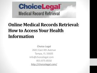 Online Medical Records Retrieval: How to Access Your Health