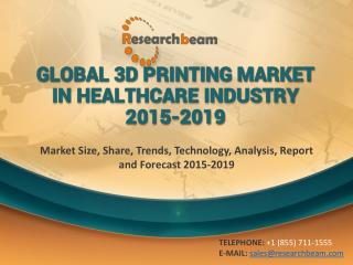 Global 3D Printing Market in Healthcare Industry