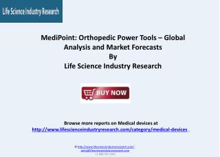 Orthopedic Power Tools Global Report and Market Forecasts