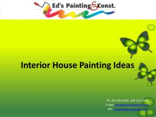 Interior House Painting Ideas