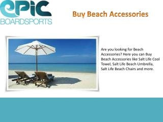 Buy Affordable Beach Accessories