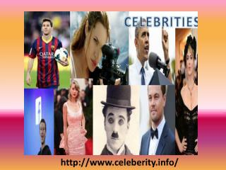 Information of Popular Celebrities
