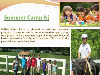 summer camps in nj