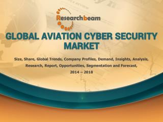 Global Aviation Cyber Security Market Demand, Insights