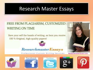 Order the Best Custom and College Essay Writing Services