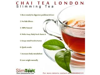 Healthy Lifestyle With Slimming Herbal Tea