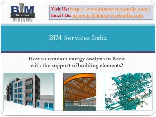 How to conduct energy analysis in Revit with the support of
