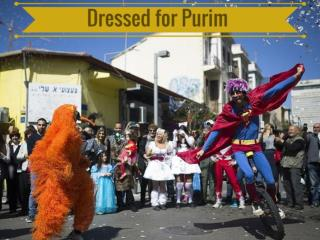 Dressed for Purim