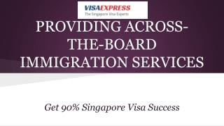 The Singapore Visa Experts