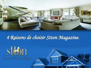 4 Raisons de choisir Stton Magazine.