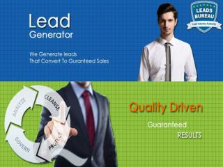 Positive, Growing Sales through Quality Auto Finance Leads