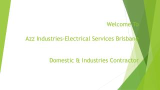 Industrial Electrician Brisbane
