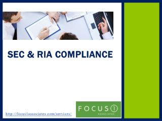 Focus 1 Associates - RIA Compliance