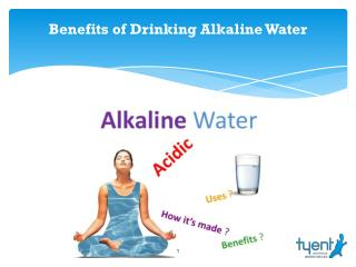 Benefits of Drinking Alkaline Water