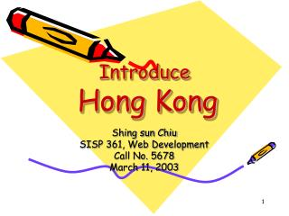 Introduce Hong Kong