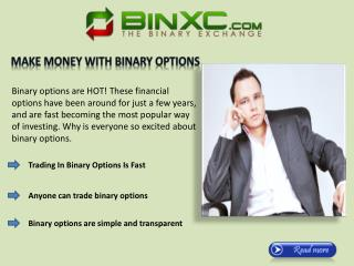The Binary Xchange | Make Money With Binary Options Trading