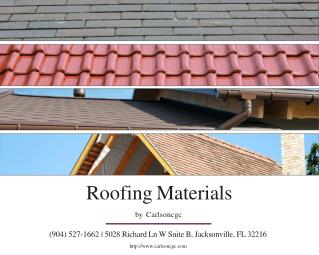 Roofing Contractors Florida - Carlson Enterprises LLC