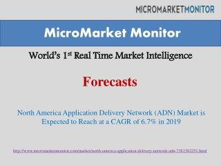 North America Application Delivery Network (ADN) Market is E