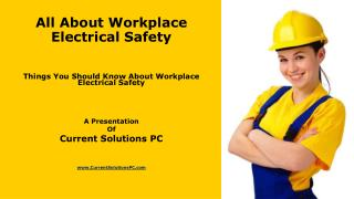 All About Workplace Electrical Safety
