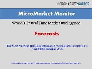 The North American Radiology Information System Market is ex