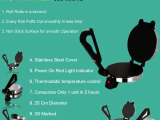 Roti Maker- A Perfect Appliance For Your Kitchen