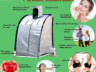 Use Portable Steam Bath At Home According To Your Convenienc