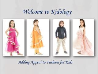 Online Shopping for Kids - Kidology