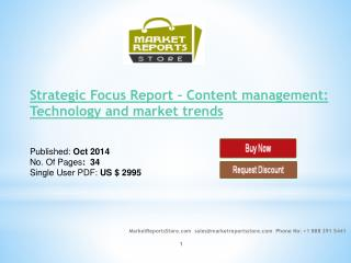 Content Management Market Trends Analysis