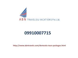 Domestic Tour Operators In Noida