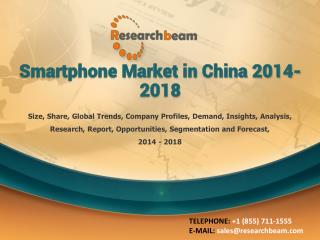 Smartphone Market in China 2014-2018