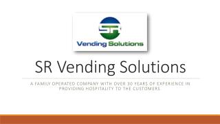 SR Vending Solutions - Candy Vending Machines in Florida