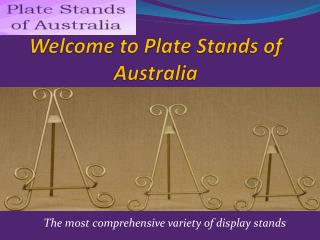 Plate Stands of Australia