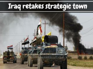 Iraq retakes strategic town