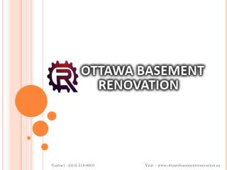 Gatineau Basement Renovation