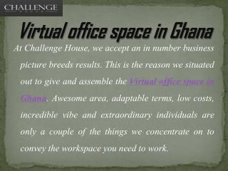 Ideal Business Office Spaces at Rent in Ghana