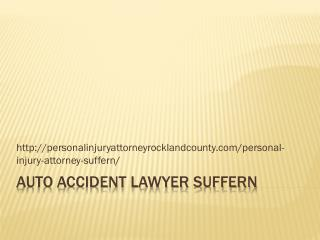 AUTO ACCIDENT LAWYER Suffern