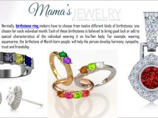 Mother Birthstone Jewelry