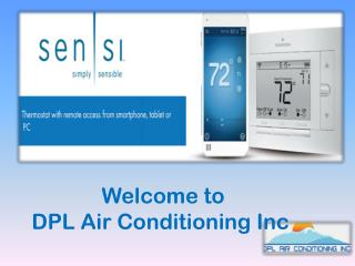 Welcome to DPL Air Conditioning Inc