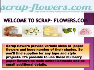 paper flowers wholesale