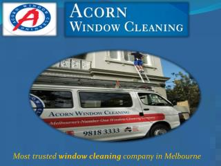 window cleaning service  in Australia