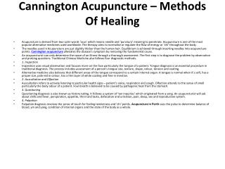 Cannington Acupuncture