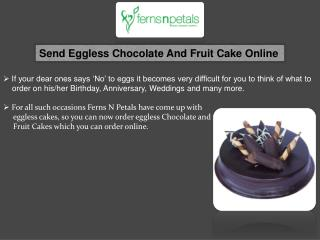 Eggless Cakes Online Delivery, Eggless Chocolate Cake