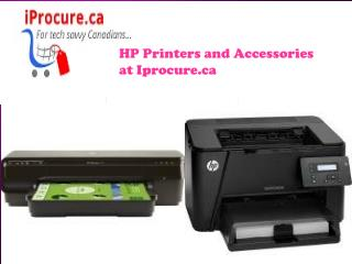 HP Printers and Accessories at Iprocure.ca