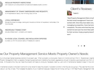 Property management baltimore county company information