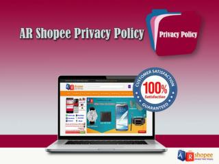 AR Shopee Privacy Policy   ARshopee