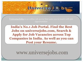 Jobs - job search engines